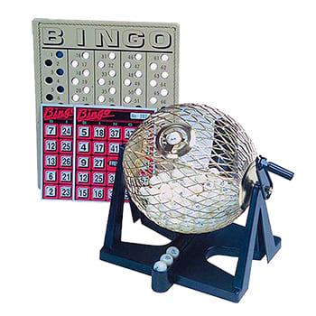 """6"""" Deluxe Bingo Game Set"""
