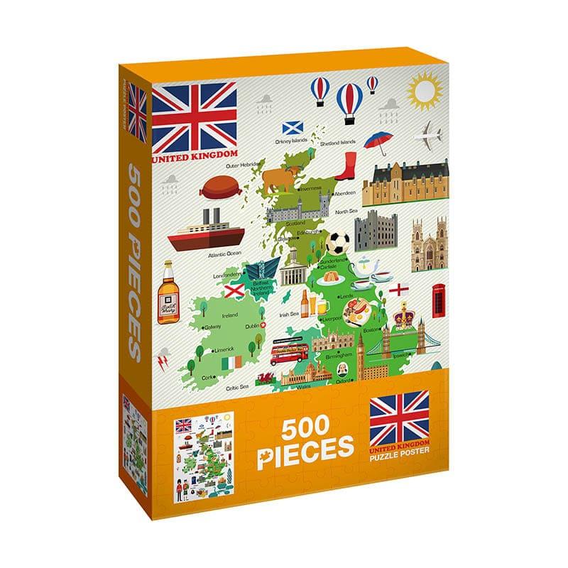 Map Puzzle-500pcs