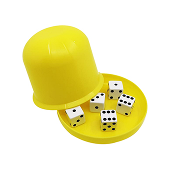 Plastic Dice Cup with Lid
